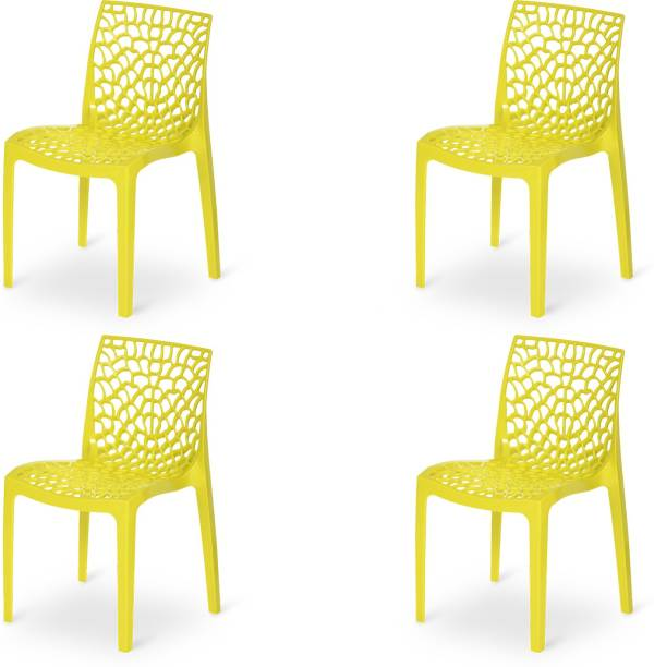 Supreme Web for Home & Garden Plastic Outdoor Chair