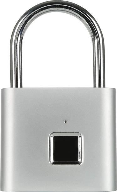 IGADG Fingerprint Unlock Padlock Key-Less USB-Rechargeable Smart Door Lock