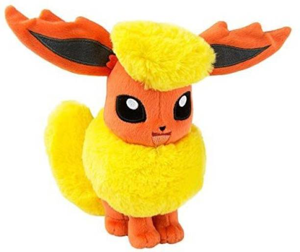 POKEMON Flareon 8 Inch Collectable Plush Toy  - 4 inch