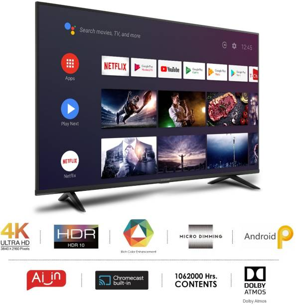 iFFALCON by TCL 138.6 cm (55 inch) Ultra HD (4K) LED Smart Android TV