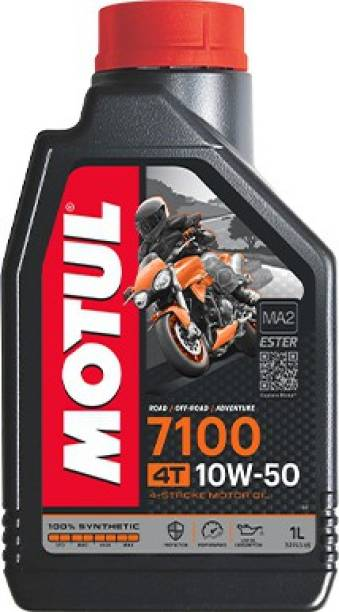 MOTUL 7100 4T 10W50 100% Synthetic Ester Synthetic Blend Engine Oil