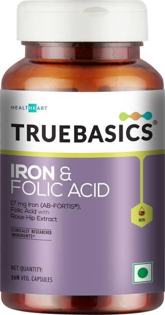 TrueBasics Iron and Folic Acid