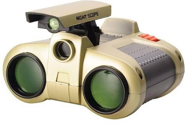FOBHIYA Night Scope Toy Binocular with Pop-Up Spotlight Binoculars for Kids, Binoculars Night Scope and Night-Beam Vision,Zoom Binoculars Cool Toy Gift for Kids (Multi-Color) Binoculars