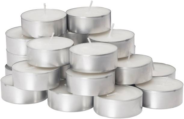 JGD Tea Light Candles White-Pack of 100 Candle