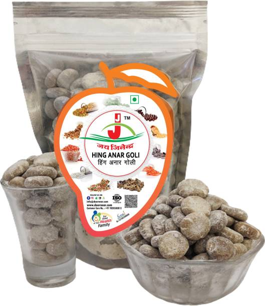 Jai Jinendra Anar Hing Goli - 900 gm Sour, Sweet Sour Candy
