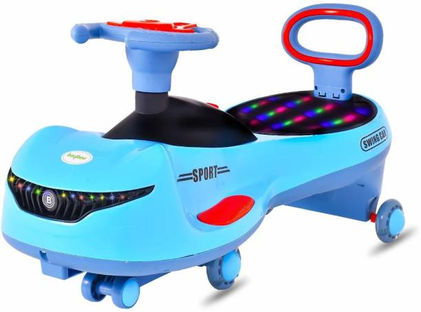 baybee Cars for Kids-Strongest & Smoothest Twister-Magic Car Ride ons for Kids with PU Wheels-Kids Ride on Push car for Kids Babies Suitable Age 2 Years and Up Boy's and Girl's Rideons & Wagons Non Battery Operated Ride On