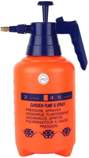 Tradhi Garden Pump Pressure Sprayer,Lawn Sprinkler,Water Mister,Spray Bottle for Herbicides, Pesticides, Fertilizers, Plants Flowers 2 L Hand Held Sprayer