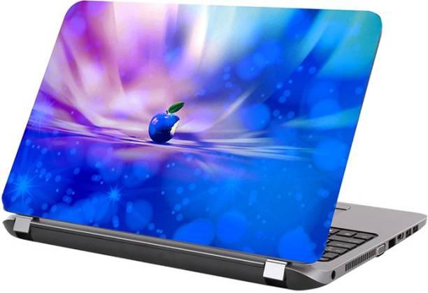 KALARKARI Laptop Skin applesymbol skin Premium matte finish vinyl HD printed Easy to Install Laptop Skin/Sticker/Vinyl/Cover for all size laptops upto 15.5 inch vinyl Laptop Decal 15.6