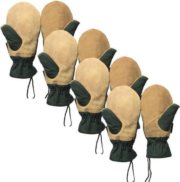Rocksport Rappelling Mitten (Pack of 4) Climbing Gloves