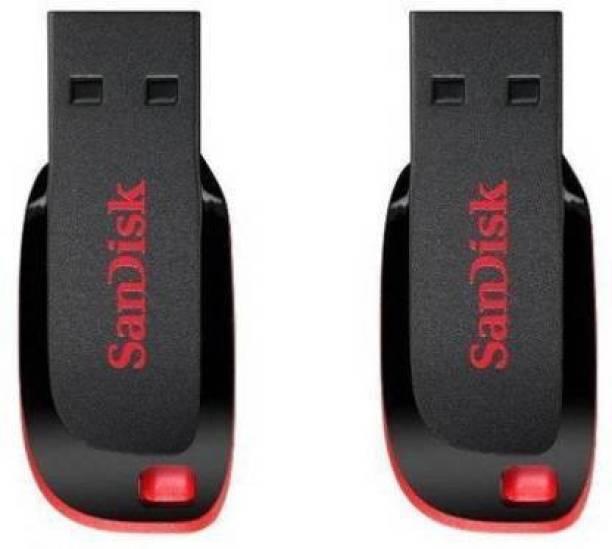 SanDisk 32 gb Cruzer Blade Pen Drive combo 32 GB Pen Drive