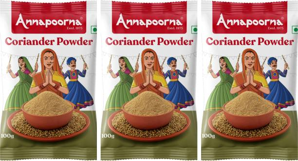 Annapoorna coriander powder100gms pack of 3