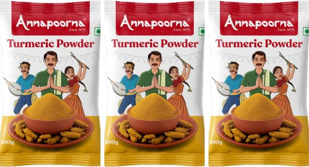 Annapoorna Turmeric Powder 100gms pack of 3