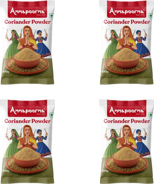 Annapoorna Coriander powder 100gms Pack of 4