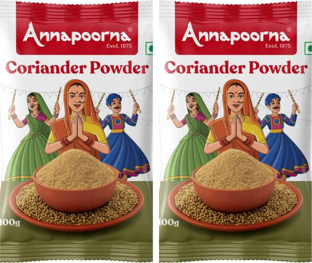 Annapoorna Coriander Powder 100gms Pack of 2