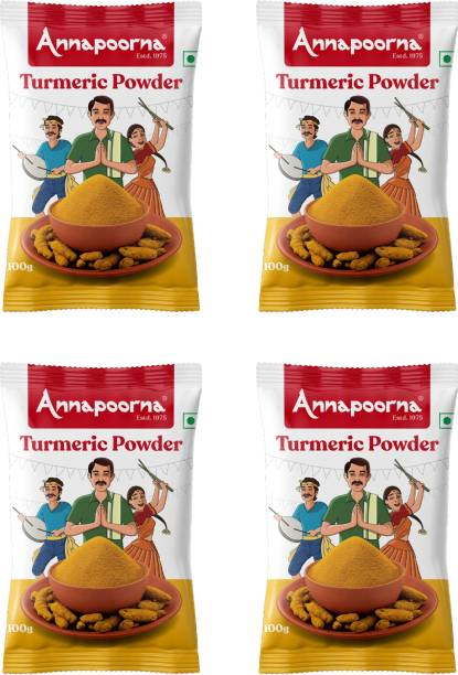 Annapoorna Turmeric Powder 100gms Pack of 4