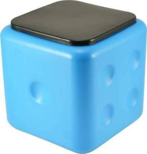 Kashtabhanjan enterprise Plastic Dice Stool, Unbreakable Plastic Square Office, Cafeteria, Living, Bedroom Dice Stool Table, Sittting Stool Living & Bedroom Stool