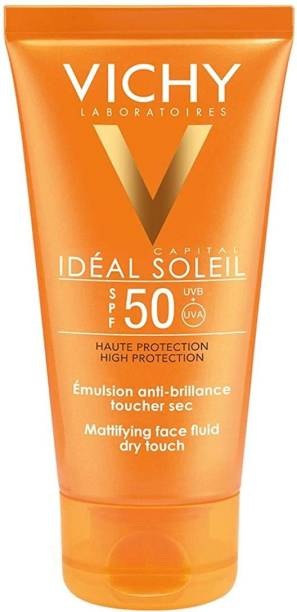 Vichy Ideal Soliel Spf 50 Mattifying Face Fluid Dry Touch 50ml
