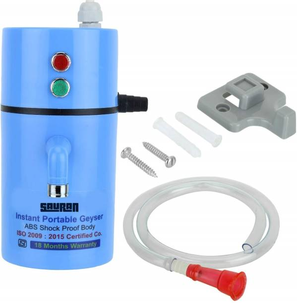 Sauran 1 L Instant Water Geyser (Geyser for Home || Office || Restaurants || Labs || Clinics || Saloon || Beauty Parlor, Blue)