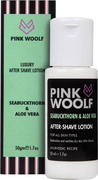 Pink Woolf After Shave Lotion - Seabuckthorn & Aloe Vera