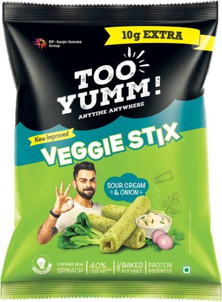 Too Yumm! Veggie Stix Sour Cream n Onion Chips
