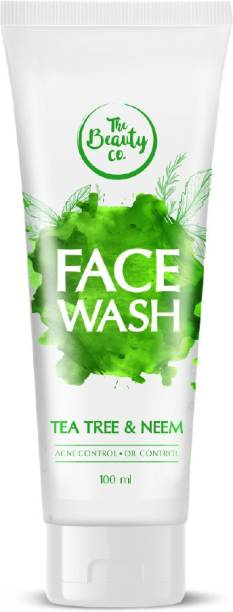 The Beauty Co. Tea Tree & Neem  | Made in India Face Wash