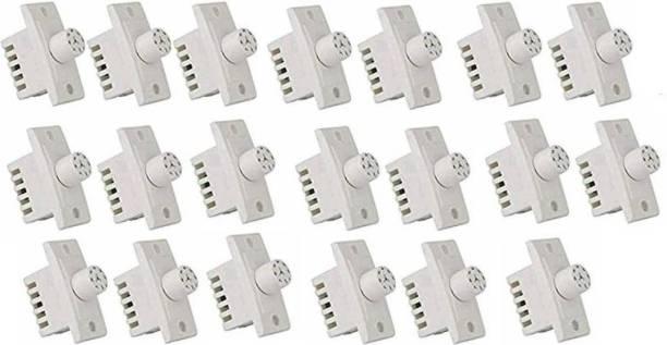 Tuffan Polycarbonate Switch 7 Step Type Fan Regulators (20 Pieces) Step-Type Button Regulator (WITH 2 PVC TAPE) Step-Type Button Regulator