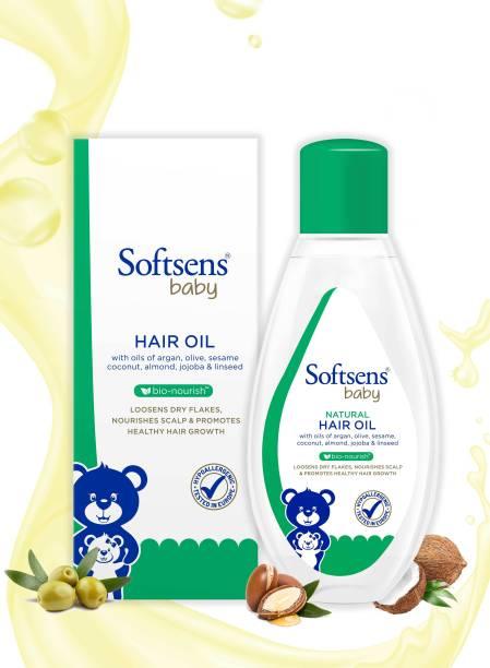 Softsens Natural Baby  Hair Oil