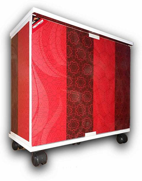 PRESTOKAM Jaguar_Red Trolley for Inverter and Battery
