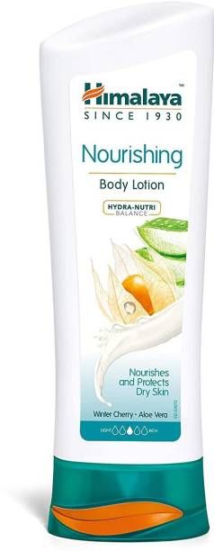 HIMALAYA nourishing body lotion winter cherry & aloe vera body lotion