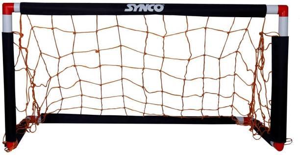 Synco Portable Easy-Up Soccer /Football Goal - 4 x 2 Feet/ For kids and juinor Football Net