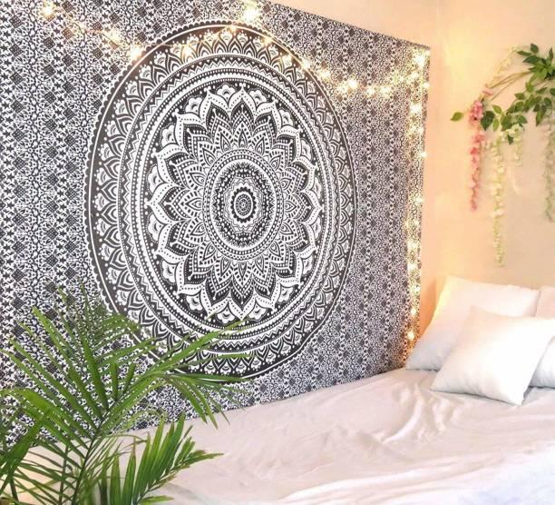Heyrumbh Handicrafts Boho Bohemian Mandala Wall Hanging Home Decoration Tapestry
