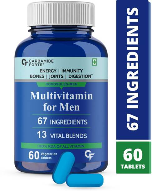 CF Multivitamin Tablets for Men with Probiotics Supplement for Energy & Immunity
