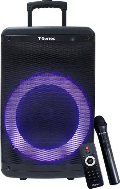 T-Series TR-12V Portable Wireless Bluetooth & USB Speaker with Mic 60 W Bluetooth Speaker