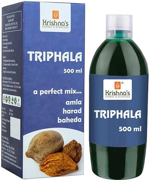 Krishna's Herbal & Ayurveda Triphala Juice| Natural