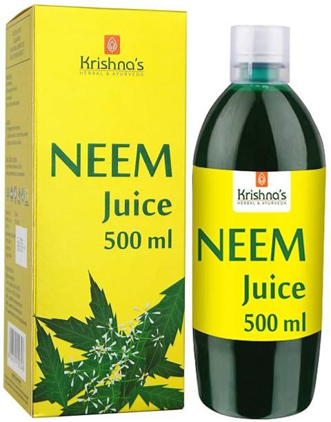Krishna's Herbal & Ayurveda Neem Juice   Sugar Free