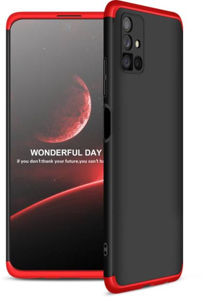 SKIN WORLD Front & Back Case for Samsung Galaxy M51