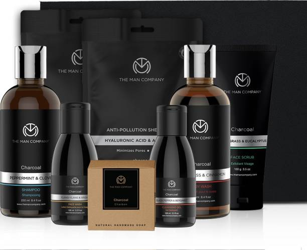 THE MAN COMPANY Ultimate Charcoal Kit