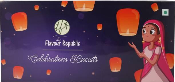 The Flavour Republic Diwali Gift Hamper Box_Blue Cookies