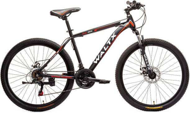 WALTX Trail 26 steel black/red 26 T Mountain Cycle
