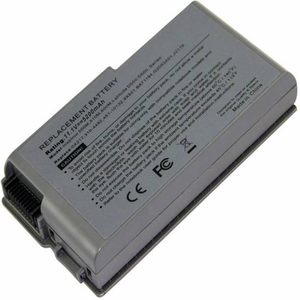 TravisLappy Laptop Battery For Latitude D500 D505 D510 D520 D530 D600 D610 6 Cell Laptop Battery