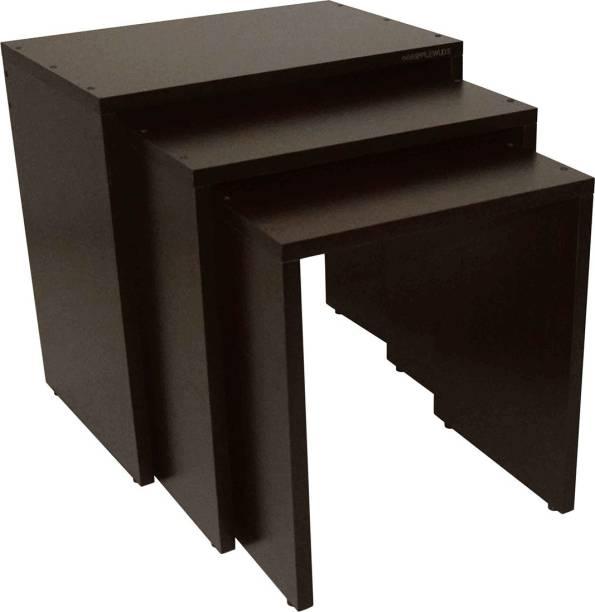RIPPLEWUDS Asandi Nested Tables Engineered Wood Nesting Table
