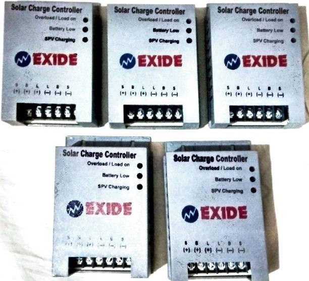 EXIDE 12/24 Volt 10 Amp PWM Solar Charge Controller PWM Solar Charge Controller