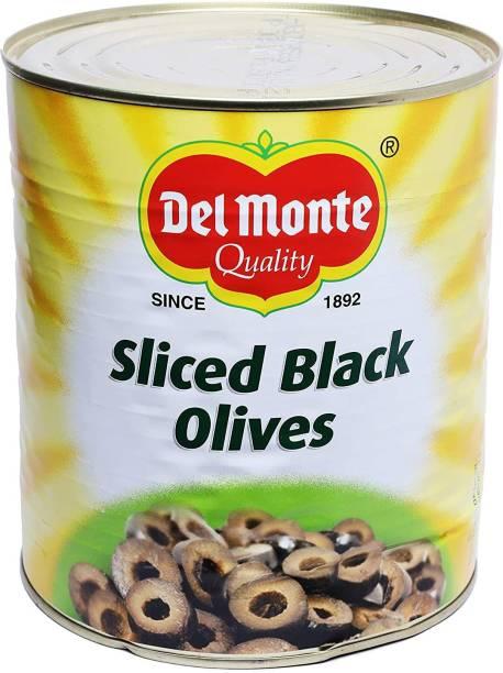 Del Monte Vegetarian Sliced Black Olives Olives