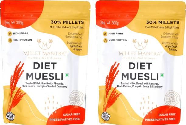 Millet Mantra Diet Muesli pack of 2