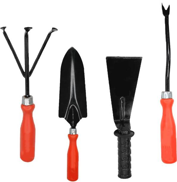 "farmstool Cultivator + Weeder + Trovel Big + khurpi 3"" Garden Tool Kit"