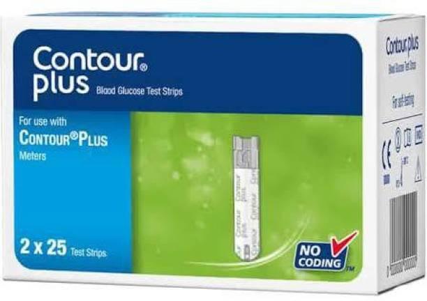 CONTOUR PLUS Contour Plus 50 Glucometer Strips