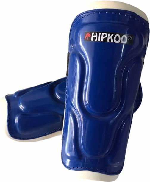 Hipkoo Sports Elite Football Shin Guards (Medium 17 cm) For Leg Protection Blue Football Shin Guard