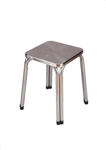 Trends tainlees Steel Metal Stool for Home,Offices, Doctor Stool, Medical Stool Hospital Food Stool