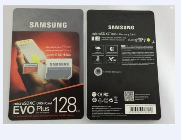 SAMSUNG MB-MC128GA/IN 128 GB Ultra SDHC UHS Class 3 100 MB/s  Memory Card