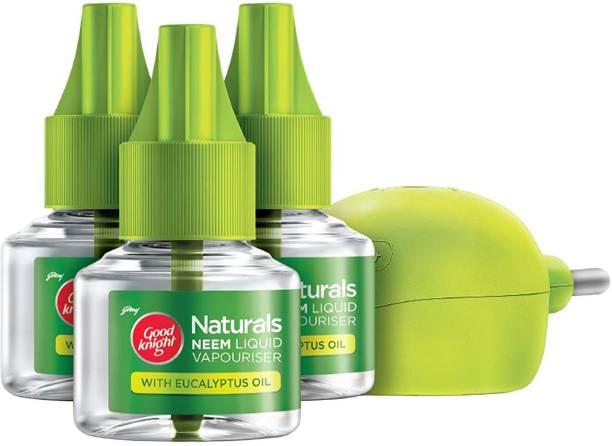 Good Knight Naturals LMD + 3 Refill Mosquito Vaporiser Refill